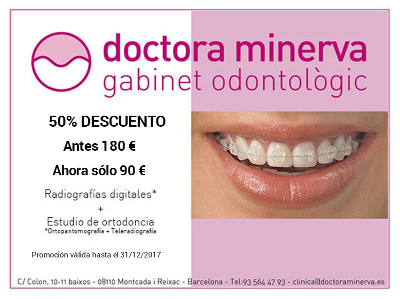 Promocion ortodoncia doctoraminerva